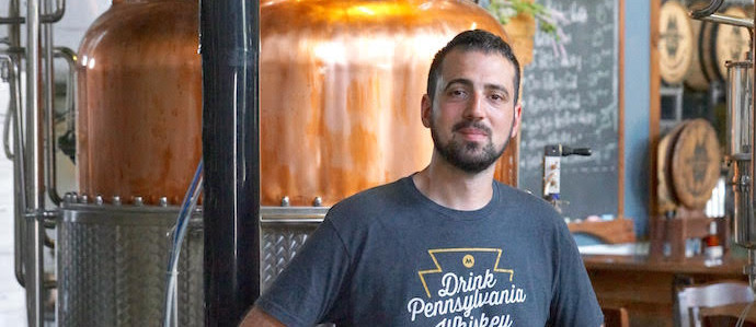 Behind the Spirit: Max Pfeffer, Head Distiller of Manatawny Still Works