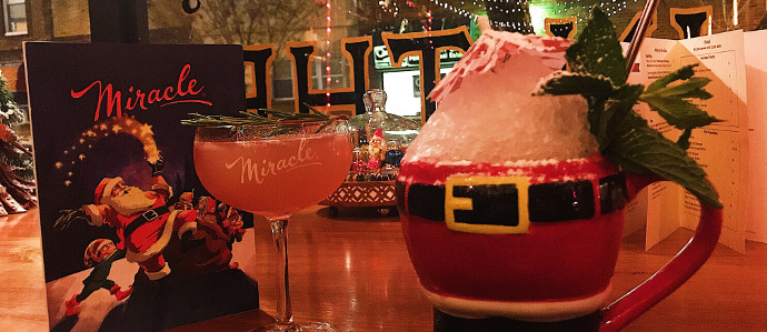 Get Into the Holiday Spirit & Grab a Drink at Miracle at ITV Through December 30