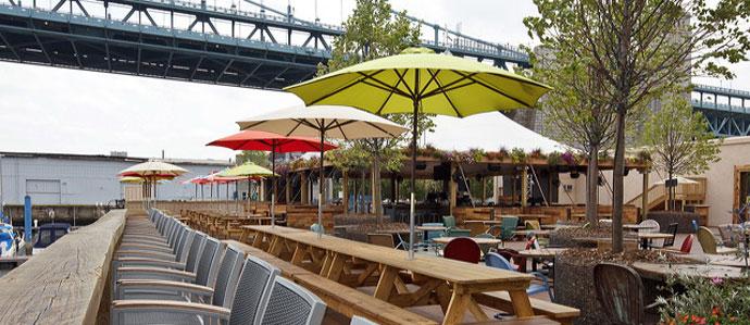 Backyard Beer Garden Morgan's Pier Returns for the Season