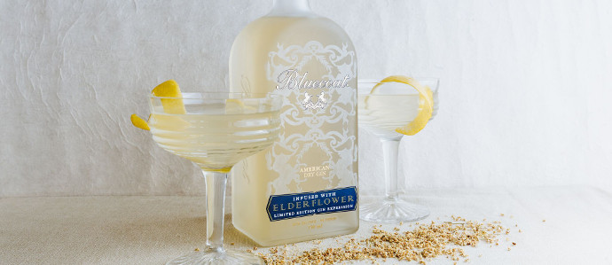 Philadelphia Distilling Has Released a Limited Edition Bluecoat Elderflower Gin
