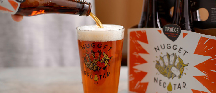 Troegs Nugget Nectar Beer Now Available in Philadelphia