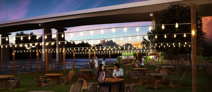 Parks on Tap Will Be a Traveling Pop-Up Beer Garden Across Philadelphia