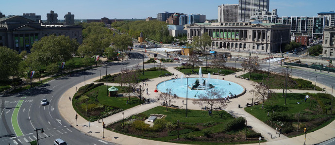 Enjoy Happy Hour Outside At Logan Square With Parks On Tap Jr Every Wednesday June 7 August 30