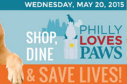 Save Lives by Dining at Participating Bars on Philly Loves PAWS Day, May 20
