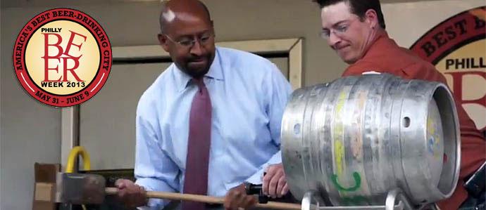 Philly Beer Week Opening Tap 2013, May 31