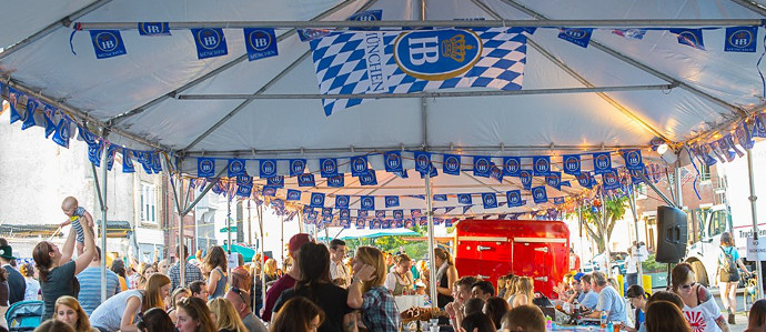 Prost! Raise a Glass at PHLOktoberfest 2019 on Frankford Avenue, September 21