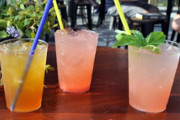 South Philly Flavors and Fresh Cocktails Define the 9th and Wharton PHS Pop-Up Garden