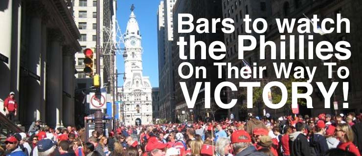 Bars to Watch the Phillies