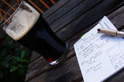 Draft Letters While Sipping Draft Beers at PubLetters