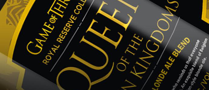 Ommegang & Game of Thrones' Latest Beer, Queen of the Seven Kingdoms, Will Hit Shelves in June