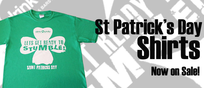 d223b3ca8 St Patrick's Day Shirts Now On Sale! - Drink Philly - The Best Happy ...