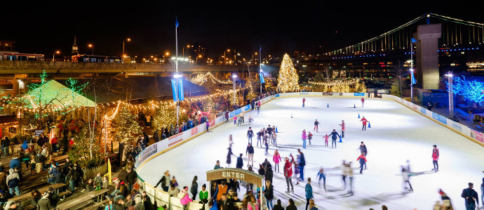 Blue Cross RiverRink Winterfest Opens for the Season, November 24