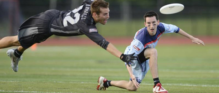 Party with Philadelphia's Major League Ultimate Frisbee Players at Dave & Buster's, April 12