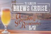 Enjoy a September to Remember Aboard the Spirit of Philadelphia's Yards Brews Cruise, Sept. 17