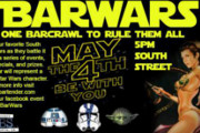 Celebrate May the Fourth With a Star Wars Bar Crawl Along South Street