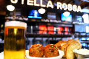 Drink Philly Exclusive Deal: Free Draft Beer And Meatball Sampler at Stella Rossa