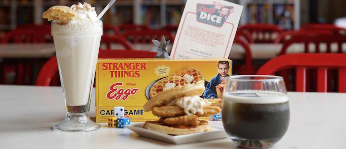 Thirsty Dice, Fairmount's Board Game-Centric Bar, Has a Special 'Stranger Things' Menu This July