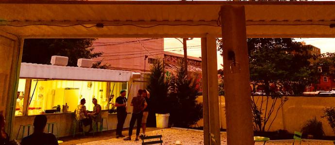 The Trestle Inn is Hosting an Outdoor Lounge Near Philadelphia's Rail Park