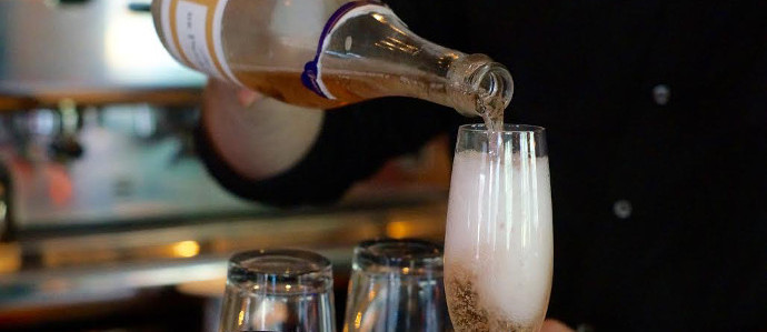 Tria is Serving $10 Glasses of Sparkling Wine To Voters on Election Day, November 6