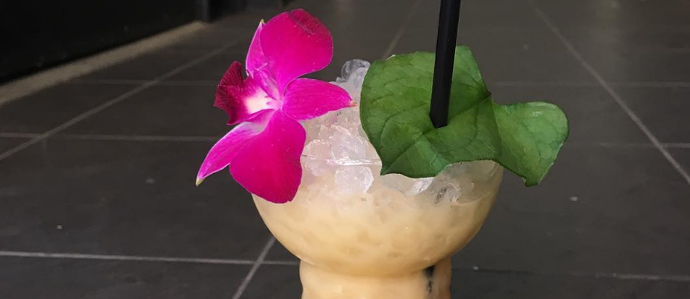 The Upstairs Bar at The Franklin is Now a Tiki Bar