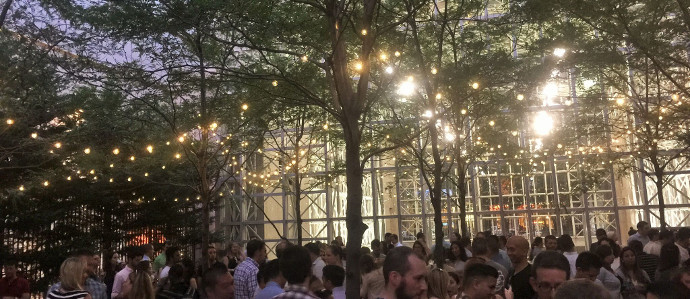 Uptown Beer Garden Returns with More Seating, Outdoor Grill
