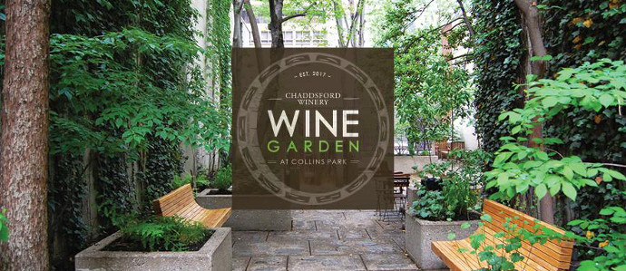 Chaddsford Winery is Hosting a Wine Garden in the Middle of Center City All Summer
