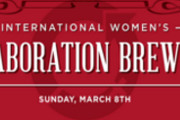 Join Local Brewers for the International Women's Collaboration Brew Day, March 8