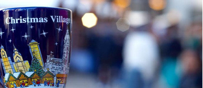 Head to Philly's Christmas Village on Wednesdays for Holiday Happy Hours