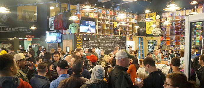 Sample Cask Beer at the 10th Annual Yards Real Ale Invitational, April 30