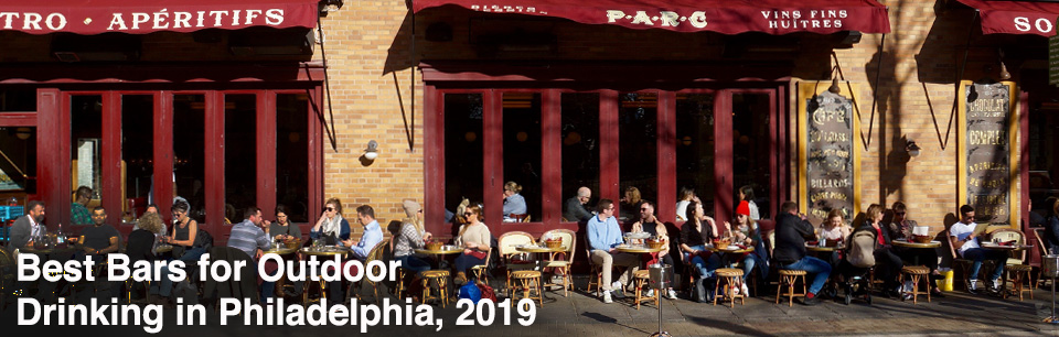 Best Bars for Outdoor Drinking in Philadelphia 2019 Cover