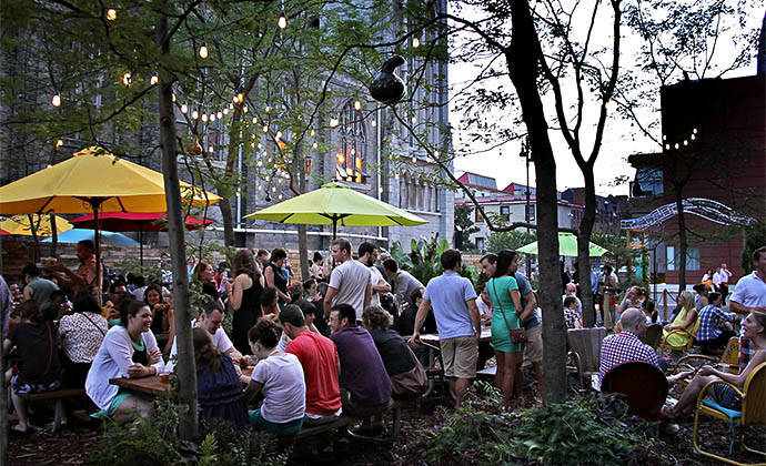 Phs Pop Up Garden And Independence Beer Garden Both Set Opening Dates Drink Philly The Best