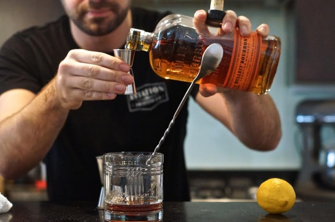 Home Bar Project: How to Make an Old Fashioned - Drink ...