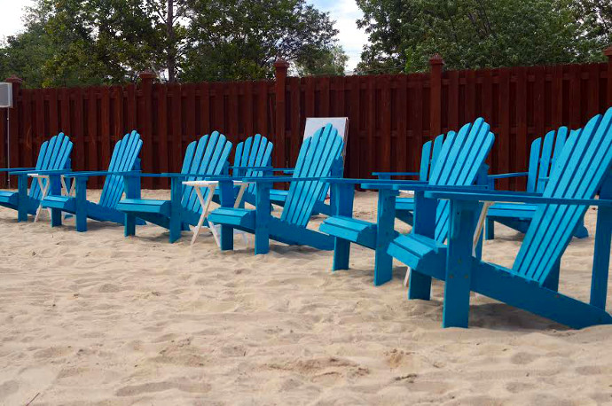Feel The Sand Between Your Toes At Valley Beach Poolside Club